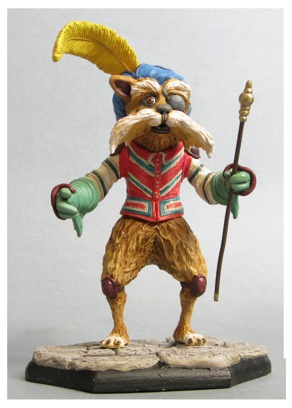 labyrinth Sir Didymus sculpture colors2