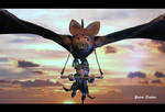 Nighthob  Stupid Bat The Neverending Story sculpts