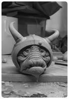 labyrinth goblin sculpture clay fanart