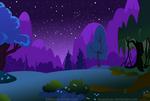 Nighttime background
