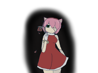 human Amy Rose -Wilted by 2strawberry4you