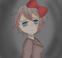 Sayori's despair by 2strawberry4you