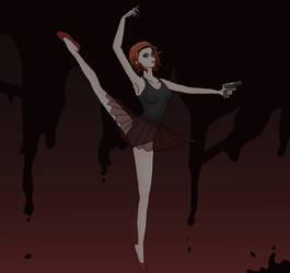 Bloody ballerina