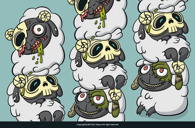 count sheep by Tae-yun