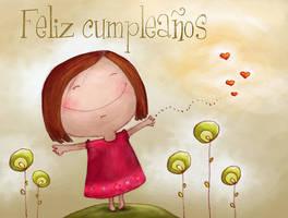 Happy birthday card by nataludica