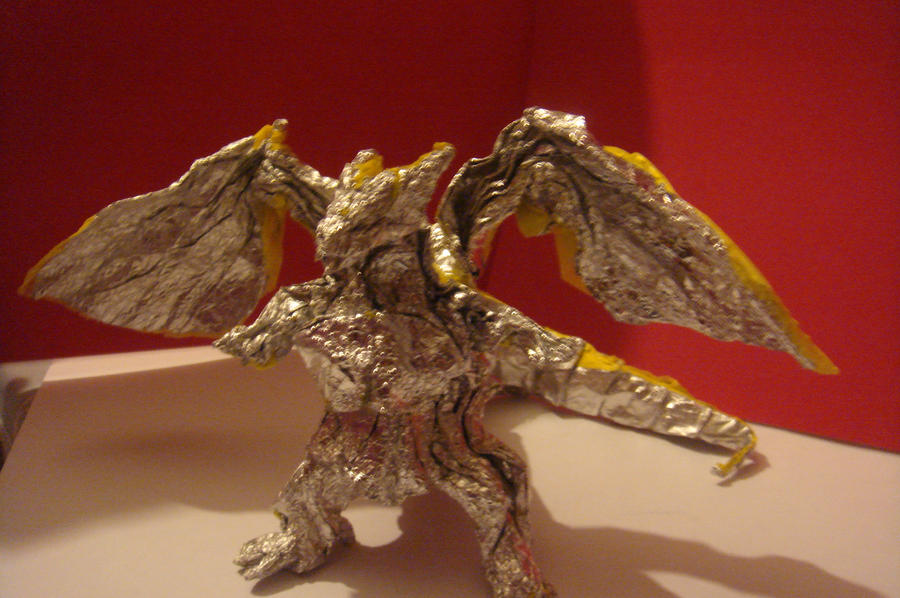 Origami Divine Dragon  Bahamut  by JacqueProductionsOrigami Divine Dragon