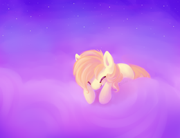 Clouds Are Like Cotton Candy by ezpups