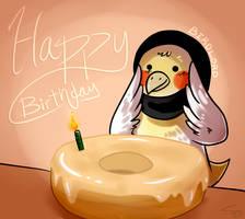 HAPPY BIRTHDAY ABURRD by ezpups