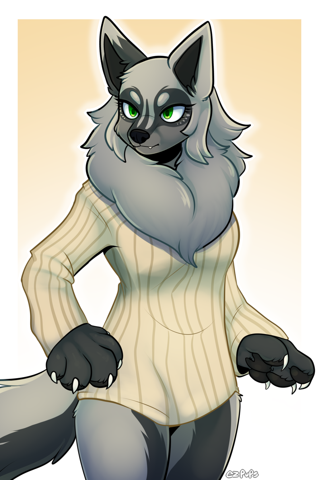 Sweater Doggo by ezpups