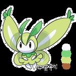 Mothim x Petilil Fusion