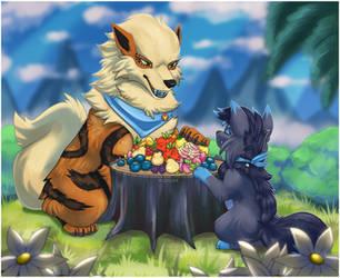 berry picnic by ezpups