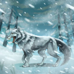 timberwolf by ezpups