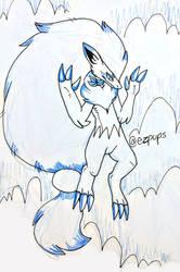fang zoro Sketch Page 2/2 by ezpups