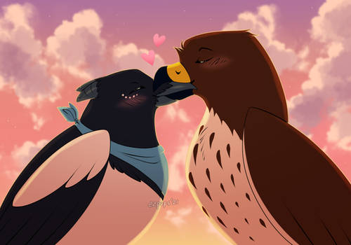 Birdy Kissies