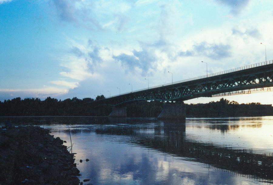 Bridge in Gora kalwaria by MichalSkrzynski