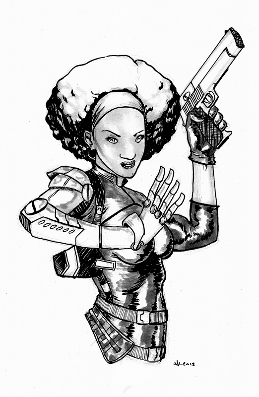 Misty Knight by MPOSullivan
