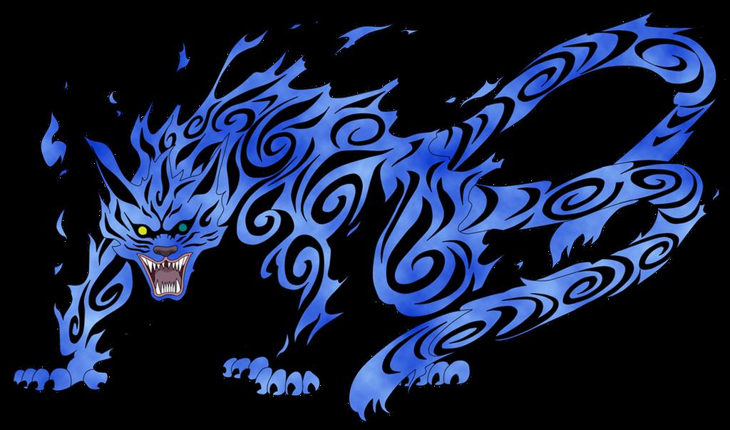 tailed beast. Biju_matatabi_by_seureihyo-d7qma1m