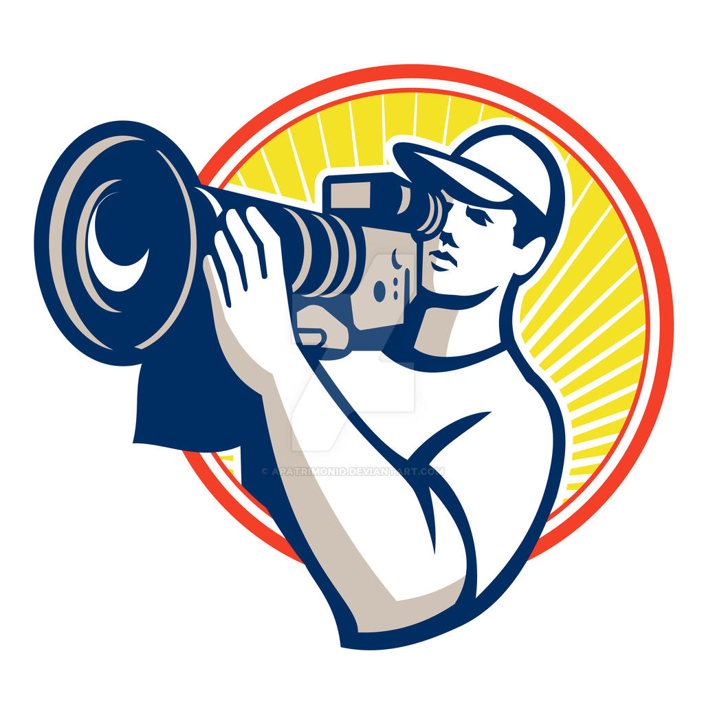 Cameraman Film Crew HD Video Camera by apatrimonio on DeviantArt