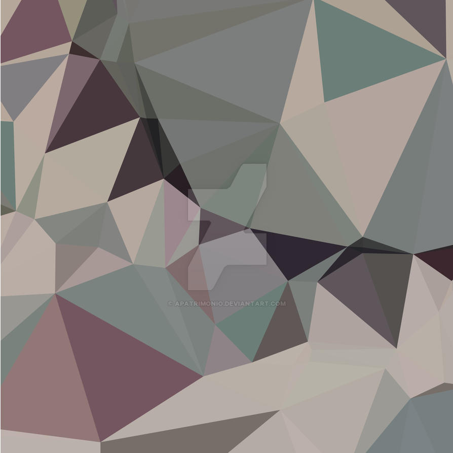 Laurel Green Abstract Low Polygon Background by apatrimonio