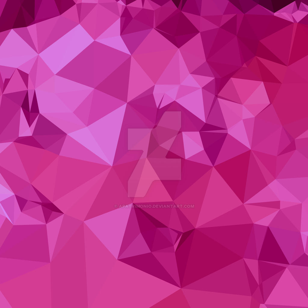 Deep pink abstract low polygon background by apatrimonio - Deep pink wallpaper ...