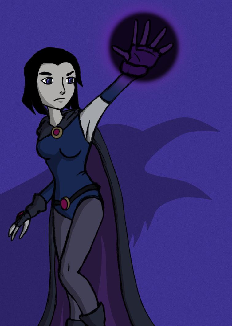 Raven (Justice League vs Teen Titans) by Kal-Kent