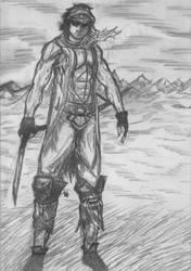 Nomadic Warrior by stojke91