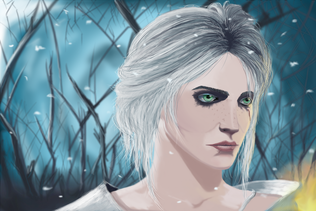 Ciri - The Witcher by stojke91