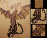 Hibiki the Dragon by LatteQueen