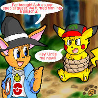 Captured Ash by Coshi-Dragonite