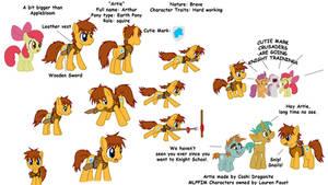 My Little Pony FIM OC entry by Coshi-Dragonite
