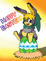 Happy Late Easter by Coshi-Dragonite