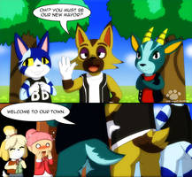 Animal Crossing Hiney by Coshi-Dragonite