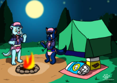 Spicy And Vee Camping