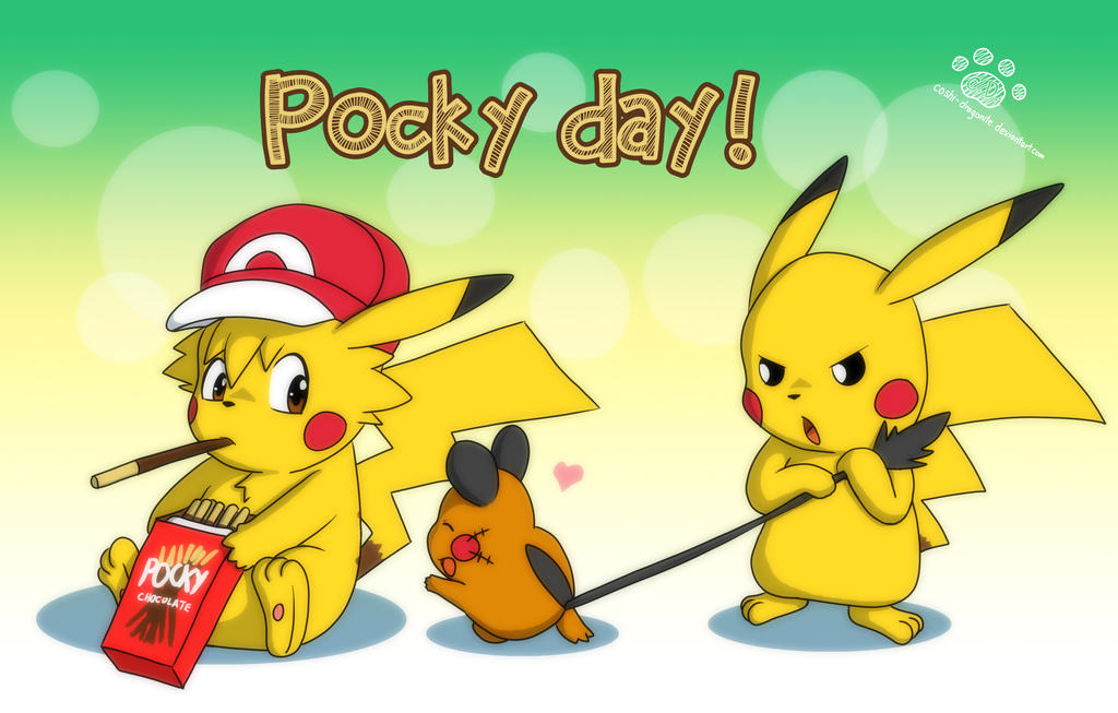 Pocky Day 2014 by Coshi-Dragonite