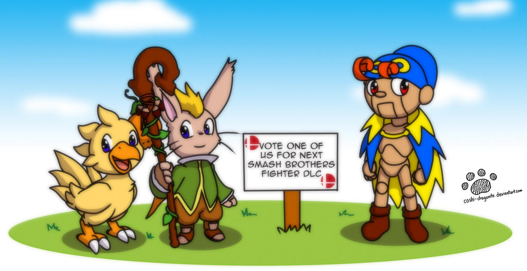 Vote for Smash Brothers Square Enix Character by Coshi-Dragonite
