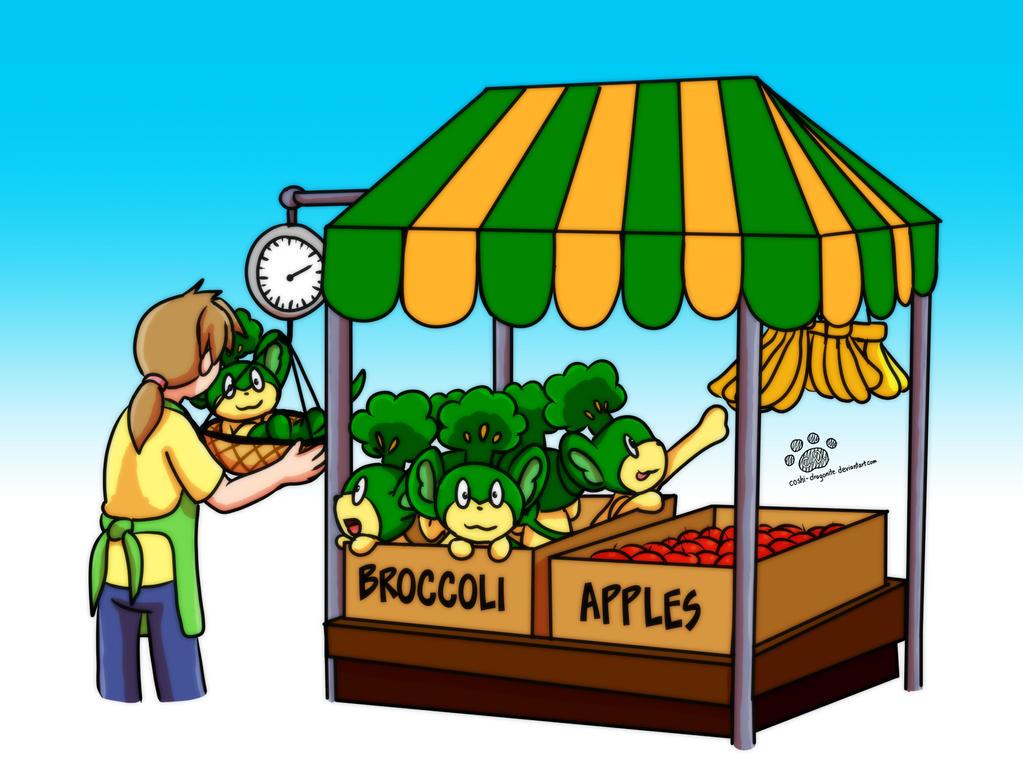 Pansage market by Coshi-Dragonite