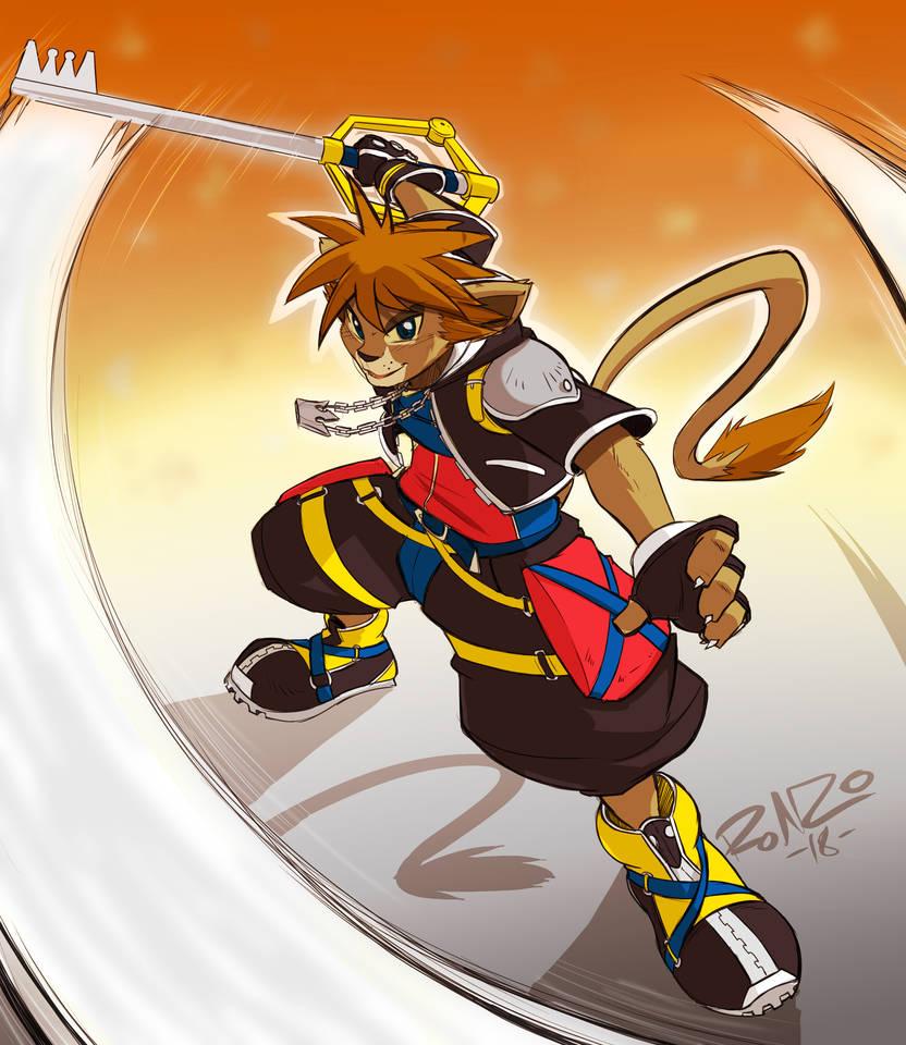 Color Sketch Sora Lion by Coshi-Dragonite