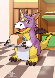 Commission: Airafox Digimon