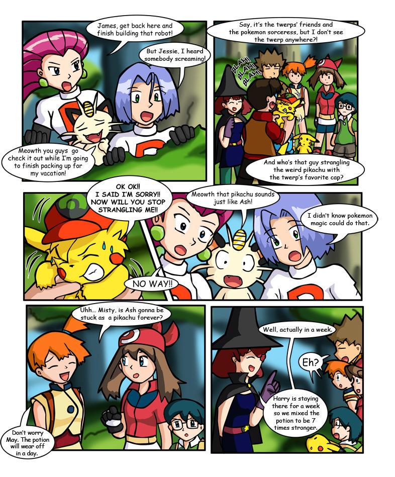 Ashchu Comics 11 By Coshi Dragonite On Deviantart
