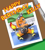 Happy Birthday Killy by Coshi-Dragonite