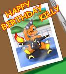 Happy Birthday Killy