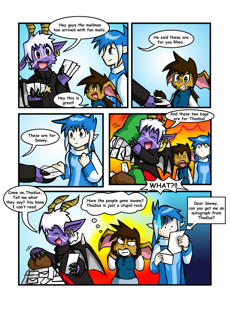 Slightly Damned Fanart Comics by Coshi-Dragonite