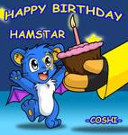 Happy Birthday Hamstar