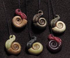 Ammonite Necklaces