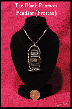 The Black Pharaoh Pendant (Protean)