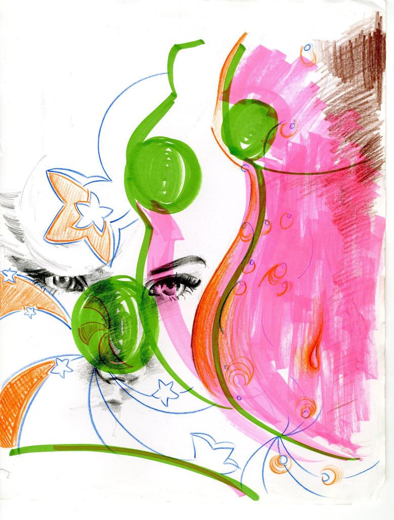 Doodling Away by tictacracklepop