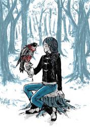 The Girl Falconer