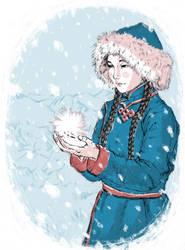 Winter in Mongol