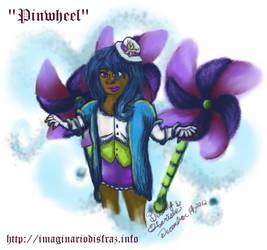 Drawing of Pinwheel's Human Avatar by freelymew
