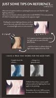 Just some tips on lighting reference... by reneechio